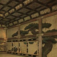 Замок Нидзё. Интерьер