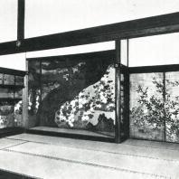 Тисякуин. Интерьер. Конец XVI в. Киото