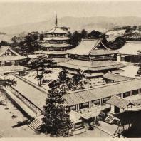 4. Храм Хориудзи близ Нара. Общий вид. VII в.