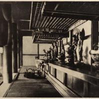 9. Интерьер Дайкодо храма Хориудзи