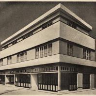 100. Доходный дом. Осака. Архитектор Намуро Ясутара. 1928—1929 гг.