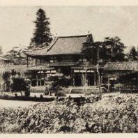 31. Храм Феникса в храмовом ансамбле Биодоин в Удзи близ Киото. Вид с другой стороны. 1053 г.