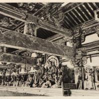 40. Интерьер Саммон (надвратного храма) Тофукудзи. Киото. XII в.
