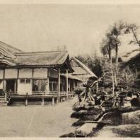 48. Синден-дзукури (ансамбль жилища и сада в стиле Синден). построенный Хидейоси в конце XVI в. близ Киото