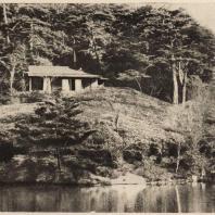 52. Чайный павильон в парке Сюгакуин близ Киото. Середина XVII в.