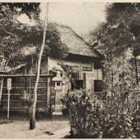 54. Чайный павильон Секка-тен при храме Рокуондзи. Киото. Построен по замыслу мастера чайных церемоний Канимори Сова. XVII в.