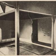55. Чайный павильон Секка-тен при храме Рокуондзи. Киото. Построен по замыслу мастера чайных церемоний Канимори Сова. Интерьер. XVII в.