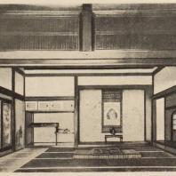 56. Приемная комната храма Дайгодзи близ Киото. 1606 г.