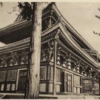 64. Кондо храма Тодзи секты Сингон в Киото. XVI—XVII вв.