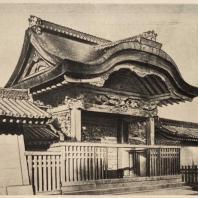66. Ворота Карамон храма Ниси-Хонгандзи в Киото. Конец XVI в.