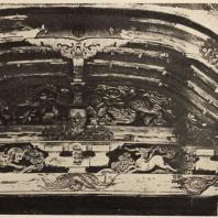 69. Резьба в Карамон в храме Хонгандзи в Киото. Конец XVI в.