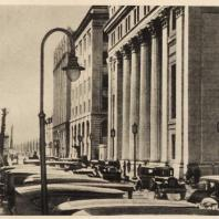 84. Округ Маруноути в Токио после реконструкции. 1930 г.