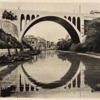 88. Мост Хидзири через реку Канда в Токио. 1920—1930 гг.