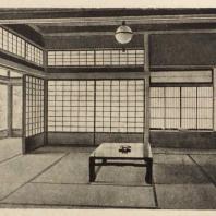 89. Салон в доме Баба в Токио по проекту архитектора Т. Иосида. 1930 г.