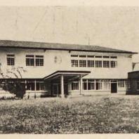 91. Художественная школа в Осака. Общий вид. Архитектор Ито Масабуми. 1927—1929 гг.