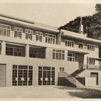 95. Особняк в Киото. Общий вид. Архитектор Уэно Исабуро. 1928—1929 гг.