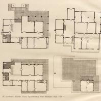 97. Особняк в Киото. План. Архитектор Уэно Исабуро. 1928—1929 гг.