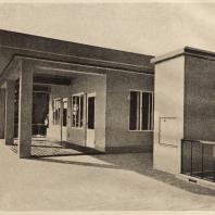 99. Особняк в Киото. Чайный павильон на плоской крыше. Архитектор Уэно Исабуро. 1928—1929 гг.