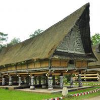 Индонезия, Северная Суматра, Lingga village, традиционный жилой дом