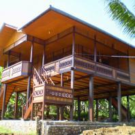 Индонезия, Джамби, традиционный жилой дом panggung