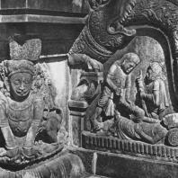 24. Далада Малигава в Канди. Фрагмент декора