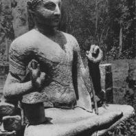 31. Статуя Будды из Анурадхапуры. V—VI вв.