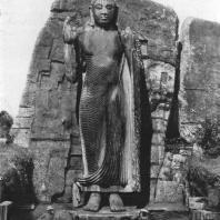 35. Скальная статуя Будды в Аукане