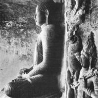 52. Статуя Будды. Пещера в Галвихаре в Полоннаруве. XII в.