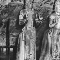57. Статуя бога Самана в Дамбуллавихаре. XVIII в.