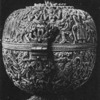 79. Шкатулка из слоновой кости. XVIII в.