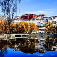 Лхаса. Дворец Потала. Фото Tony Yang