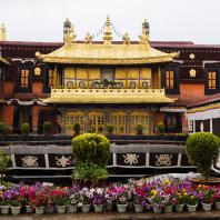 Лхаса. Храм Джовокханг (Большого Чжу). Фото Rita Willaert