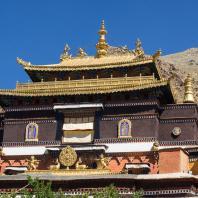 Шигатзе. Монастырь Таши-Лампо. Тибет. Фото Rita Willaert