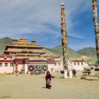 Монастырь Самье. Тибет. Фото Zhixiao Jiang
