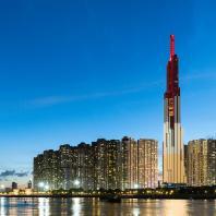 Вьетнам, Хошимин, небоскреб Landmark 81