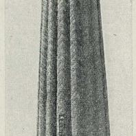 Табл. IV. Рис. 4. Узбекистан. Джар-Курган. Минарет XII—XIII вв.